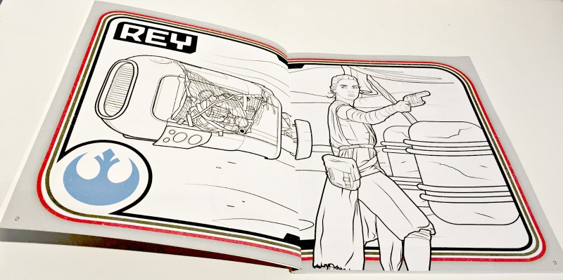 starwars colouring book