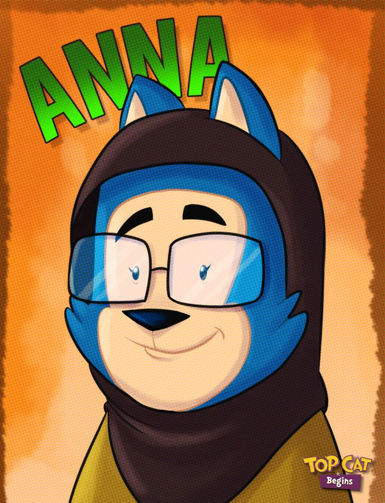 anna top cat cartoon