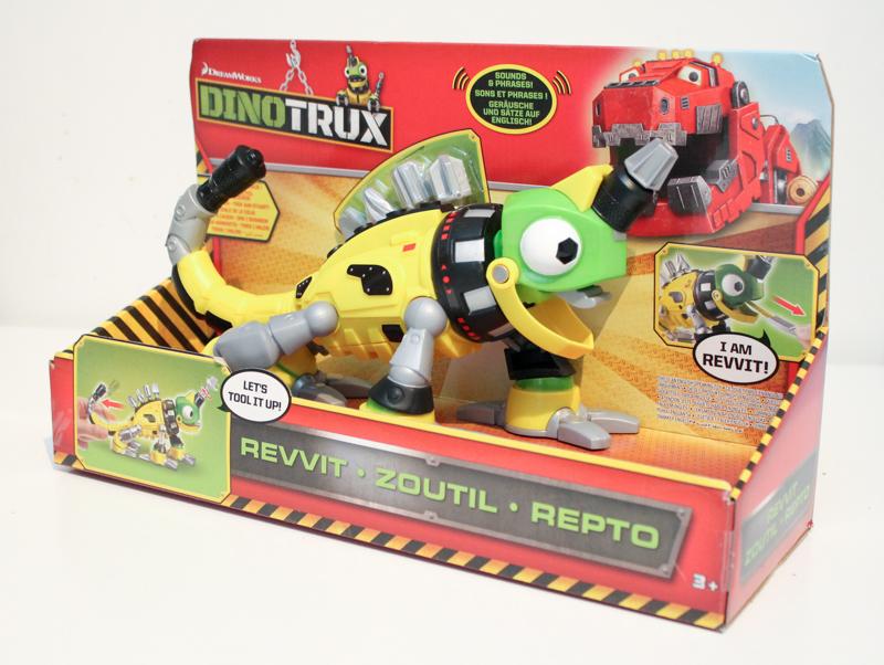 Dinotrux Power Revvitt toy