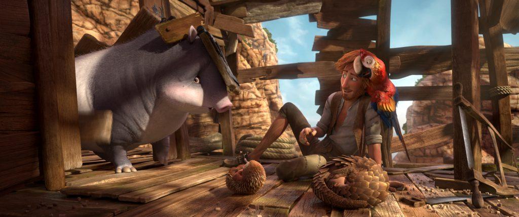 Robinson Crusoe Still for competition