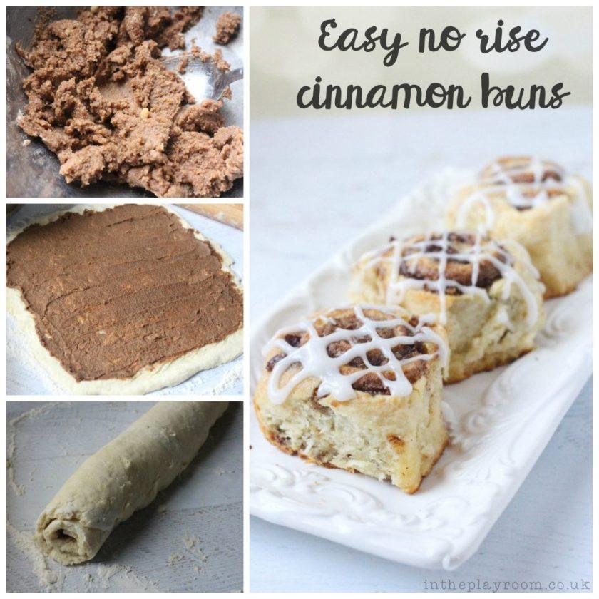 easy no rise cinnamon buns