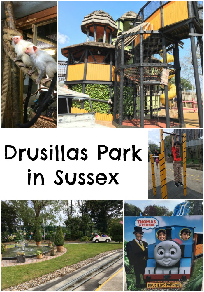 Drusillas Park in Sussex, family day out with zoo, Thomas the tank engine experience, Hello Kitty Secret garden and more
