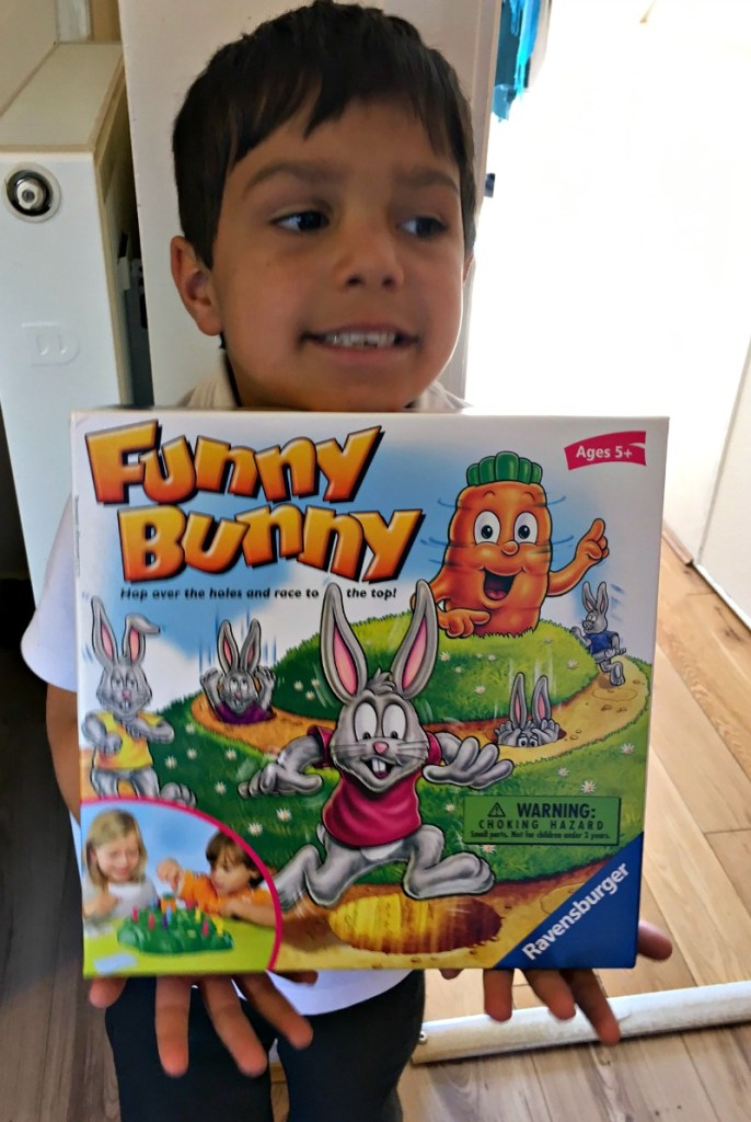 Ravensburger funny bunny game