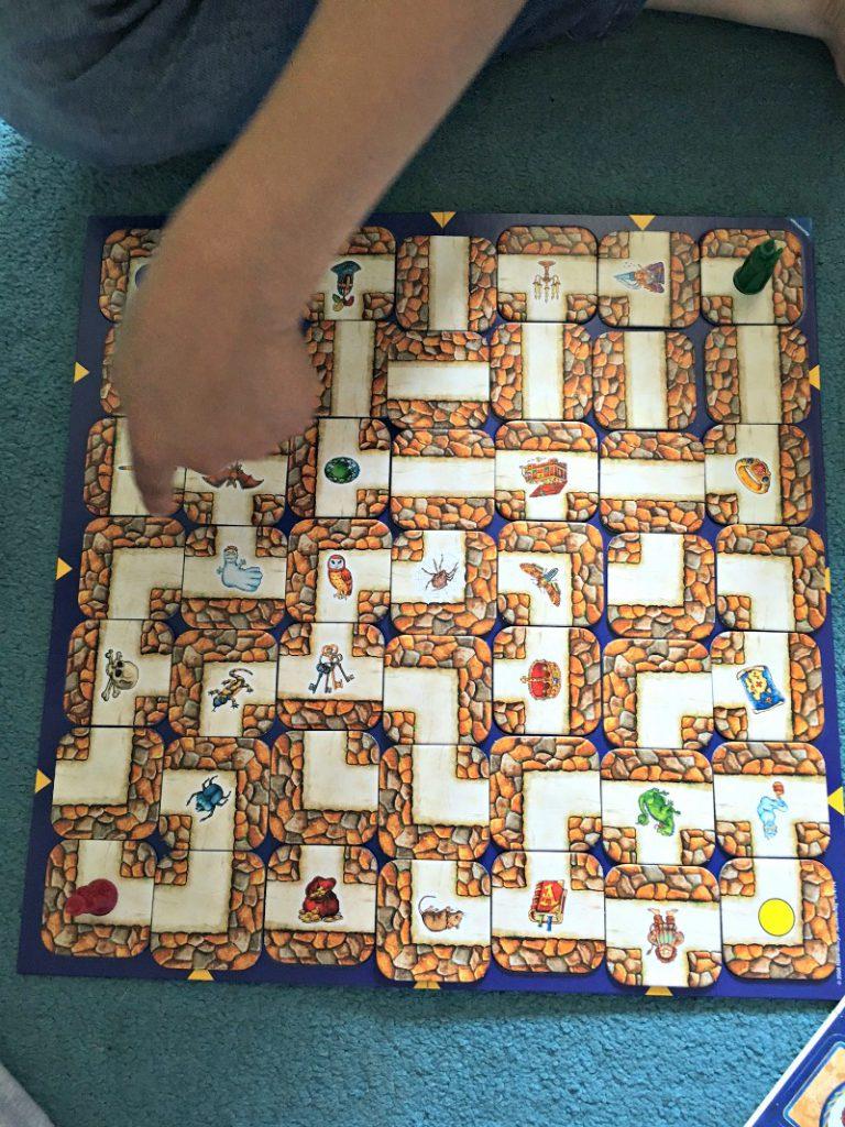 playing labyrinth