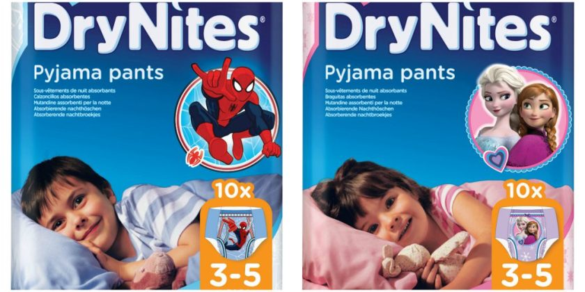 drynites disney and marvel pack designs