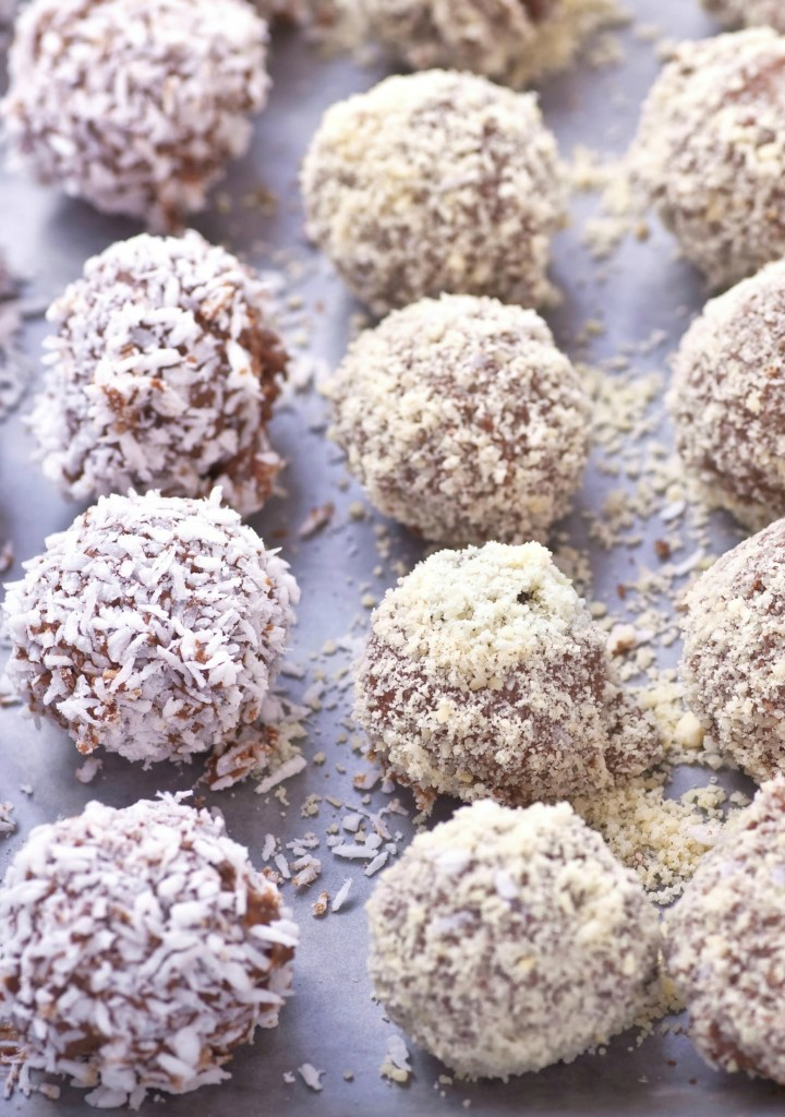 Walnut & Pecan Balls recipe