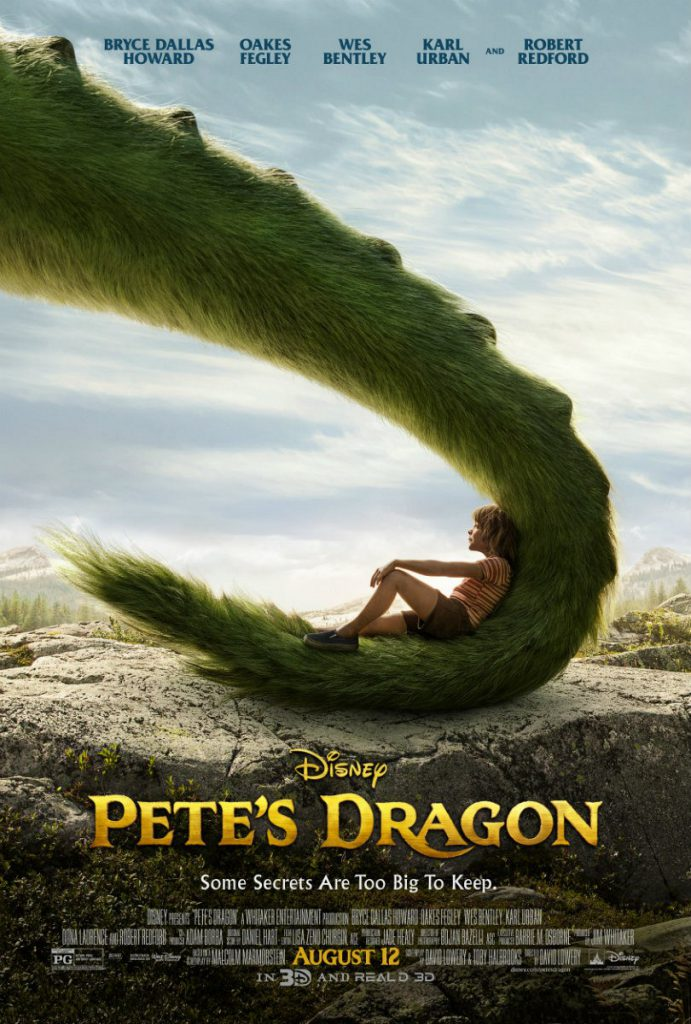 UK Petes Dragon Poster Disney