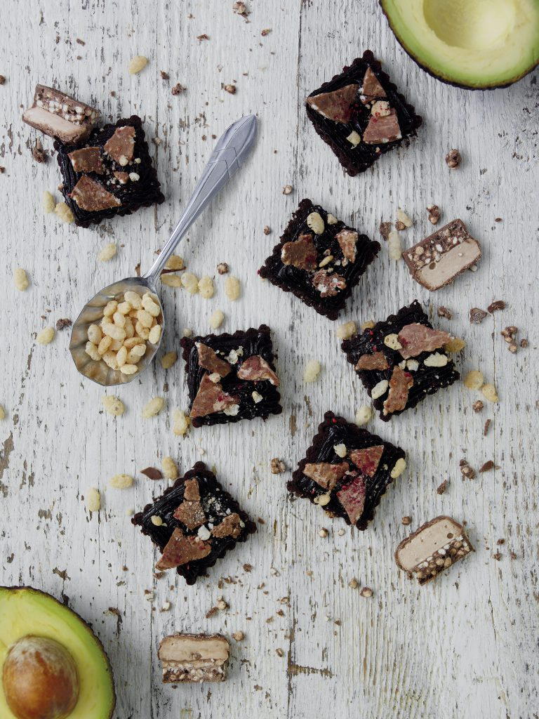 chocolate and avocado rocky road recipe