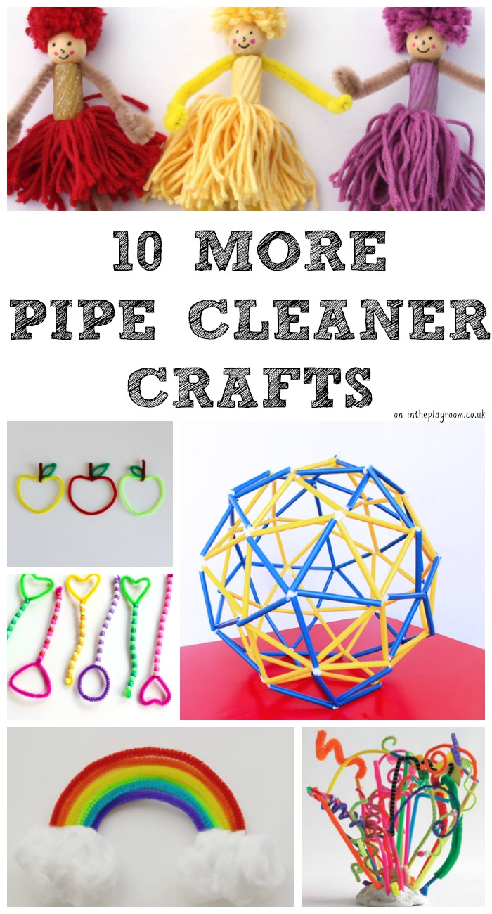 More great pipe cleaner craft ideas for kids