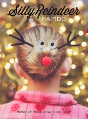 8 festive girls christmas hair