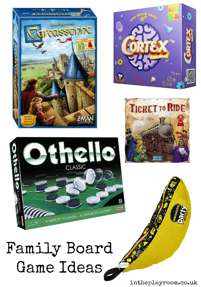 family board game ideas, for Christmas or family game nights