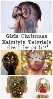 8 festive girls christmas hair