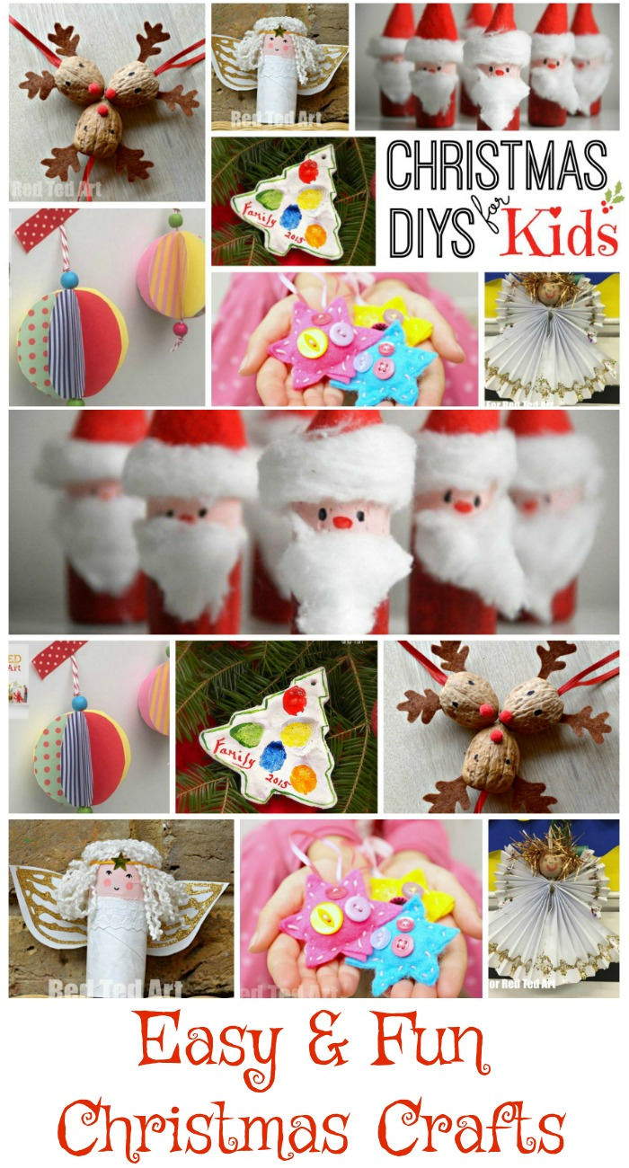 easy and fun christmas crafts to make with kids