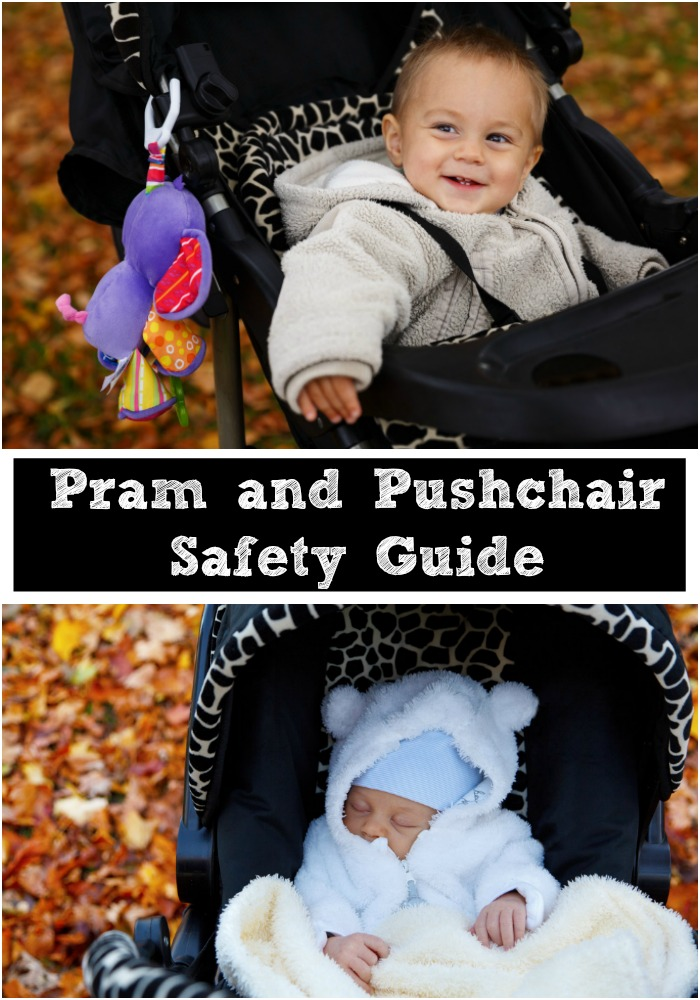 Pram pushchair and stroller safety guide. What to check before buying