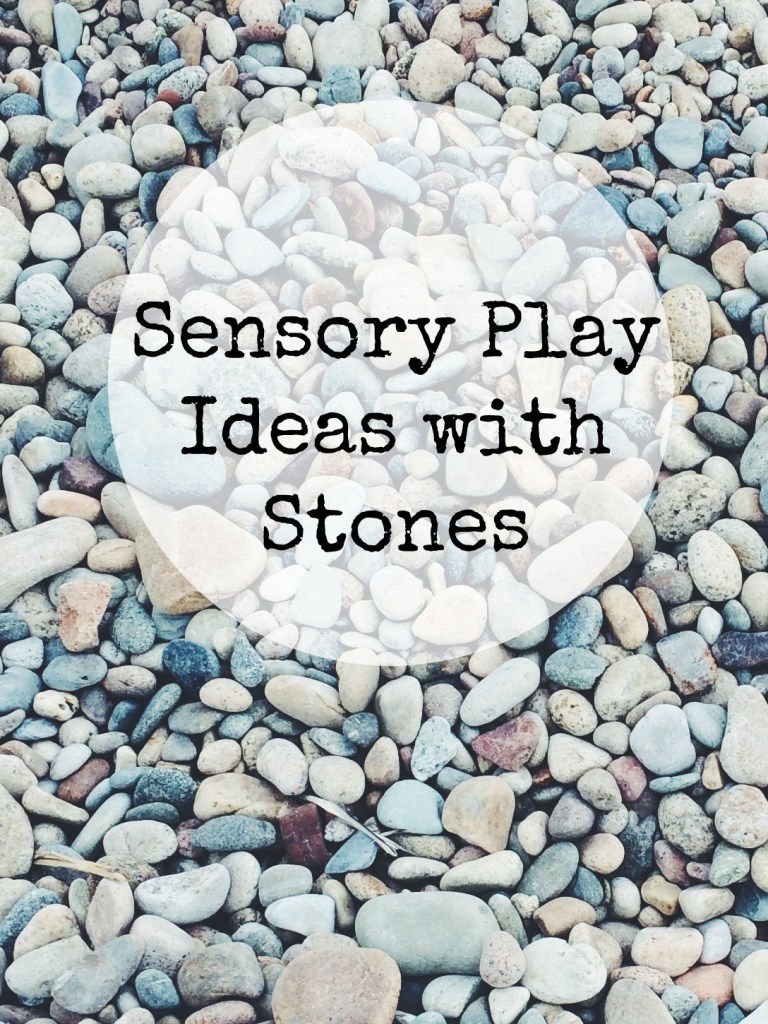 sensory play ideas and activities using stones and rocks