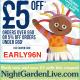 In The Night Garden Live Discount Code