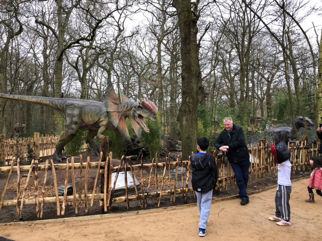 Dilophosaurus World of Dinosaurs at Paradise Wildlife Park