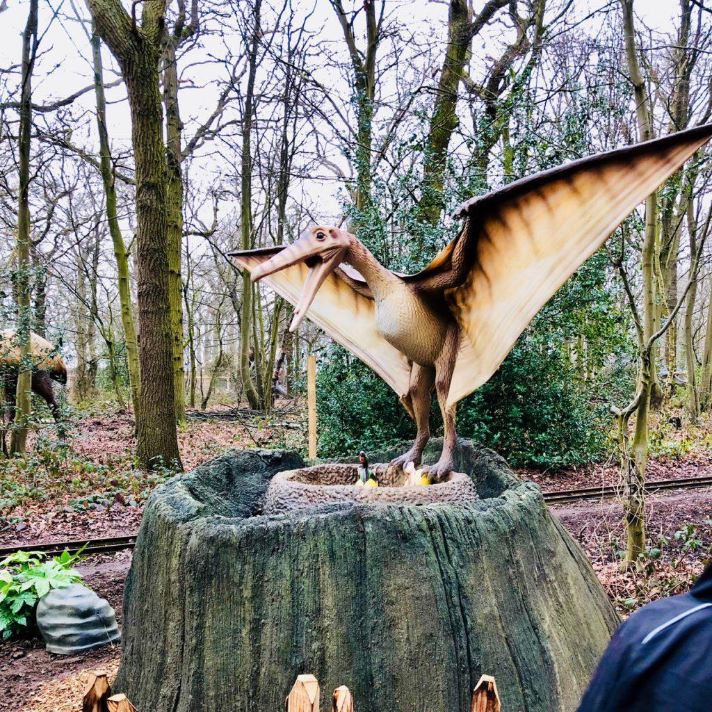 Pteranodon World of Dinosaurs at Paradise Wildlife Park