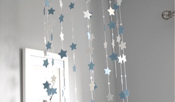 DIY Nursery Star Mobile