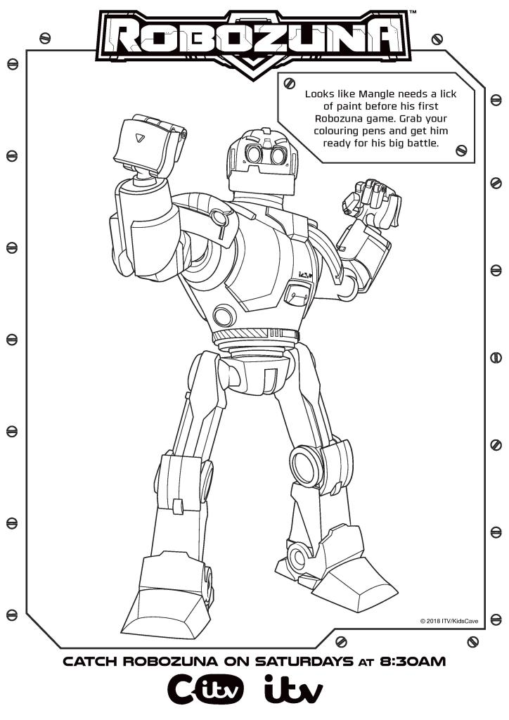 Robozuna Activity Sheets Printables - In The Playroom