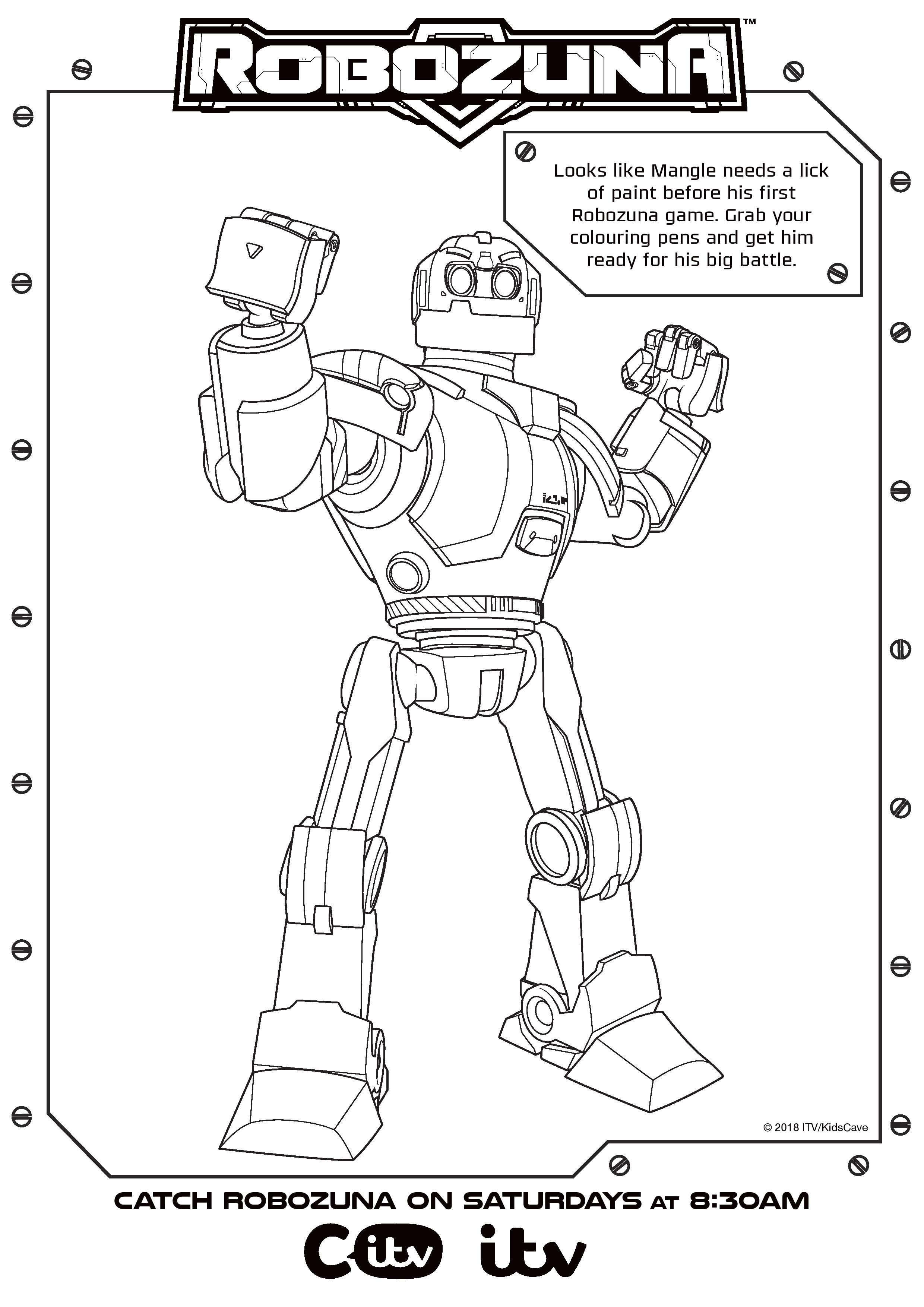 Robozuna Colouring Sheet_01 (1)-page-001 - In The Playroom