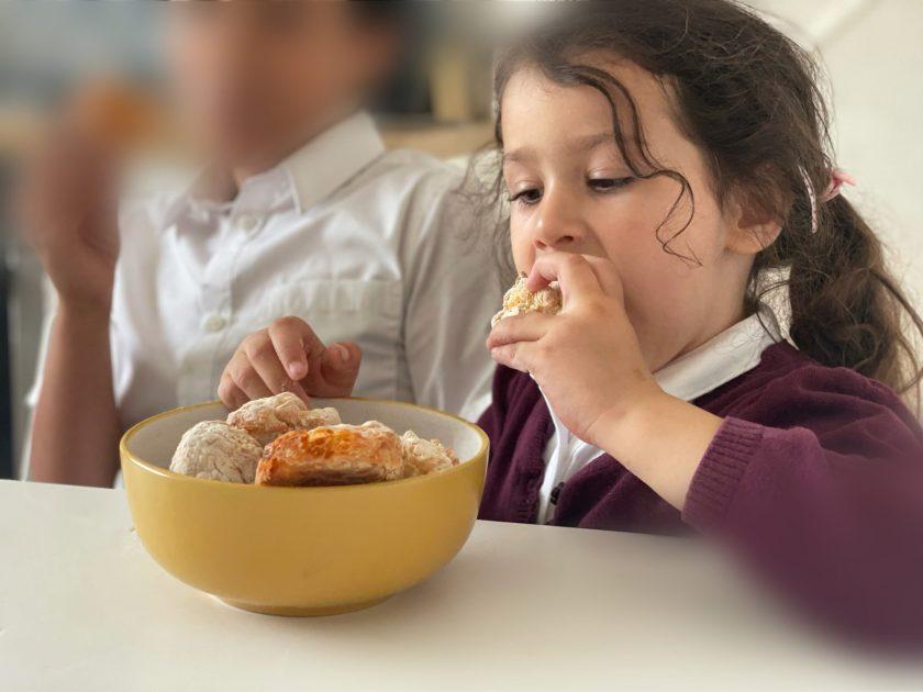 after school snack garlic dough balls