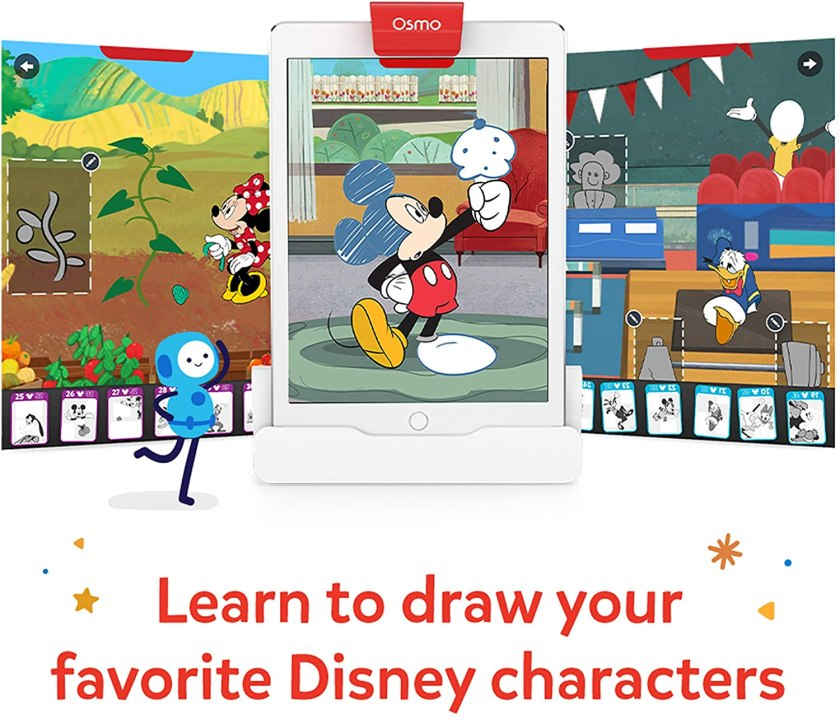 Osmo super studios Mickey drawing game