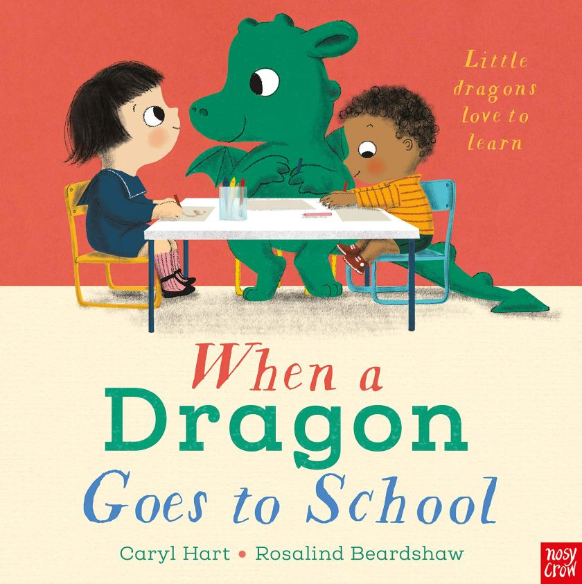 when a dragon goes to school book