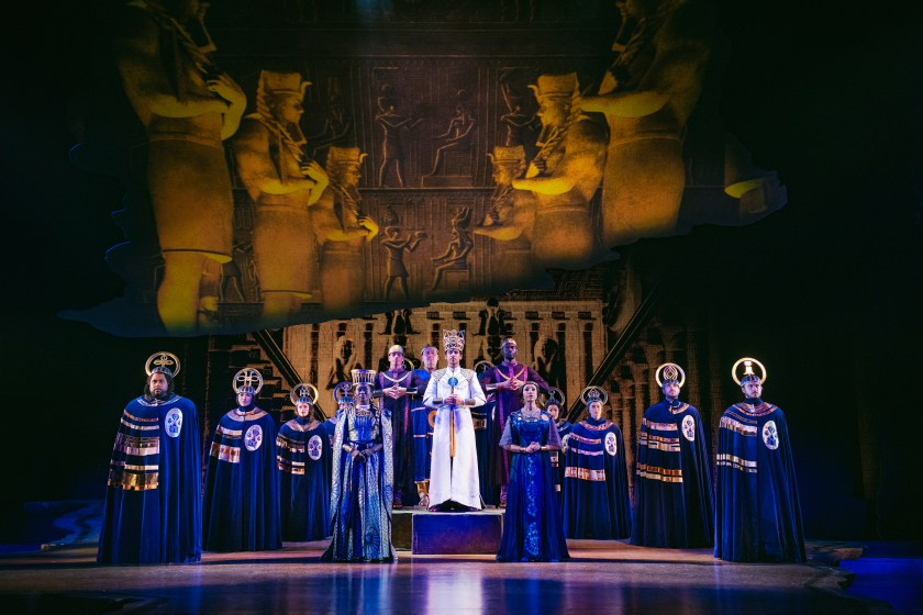 Pharaoh The prince of Egypt Musical dominion theatre