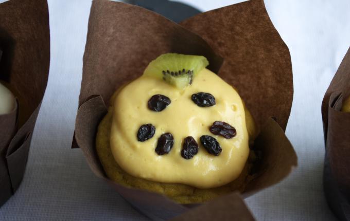 jackolantern pumpkin muffin