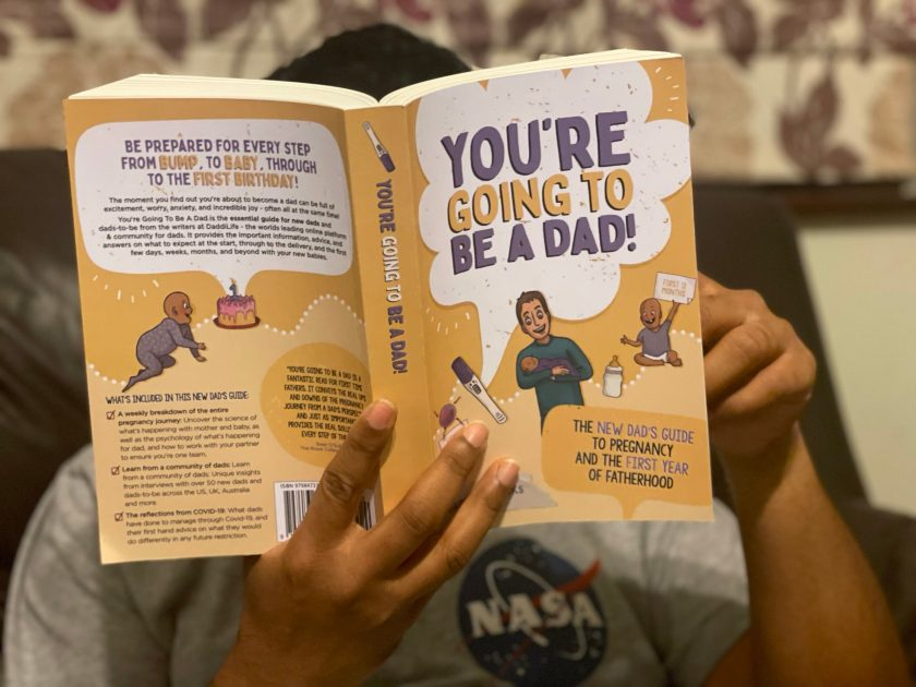 you're going to be a dad guide book for first time parents