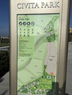 Civita Park Sign