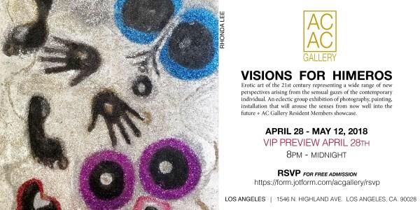 Rhonda Lee_AC Gallery LA_EROTIC VIP PREVIEW INVITE