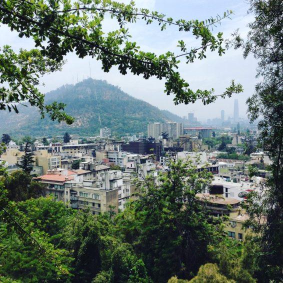 View from Cerro Santa Lucia.