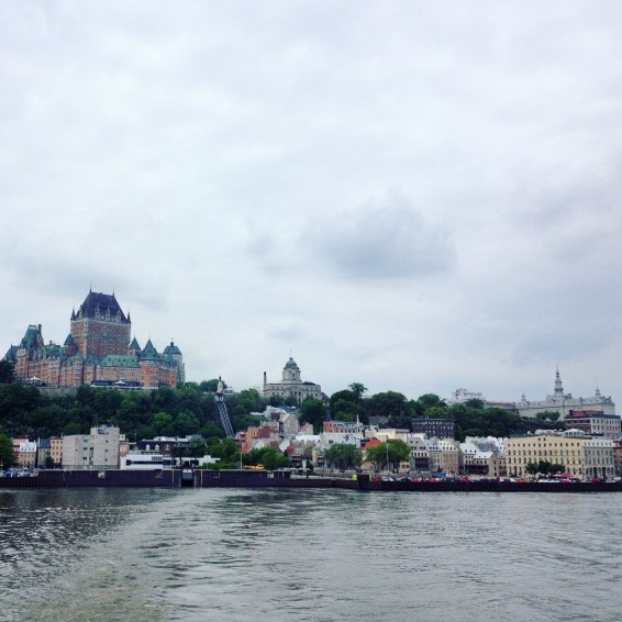 On the ferry to Lévis.
