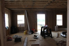 Insulationkitchenandlivingroom