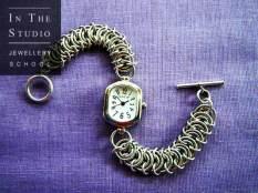 Chain-maille-watch