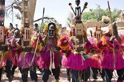 ドゴン族の儀式