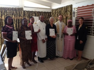 Completed training at St. Andrew, Kingston, Jamaica