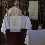 Preaching at St. Andrew, Kingston, Jamaica