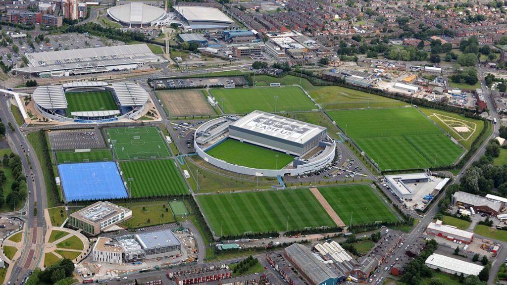 Οι εγκαταστάσεις της City Football Academy