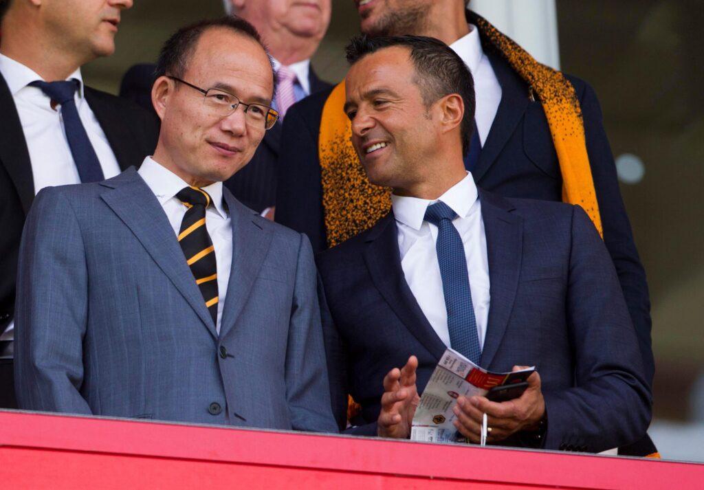 Ο ''χρυσοδάκτυλος'' ατζέντης με έναν εκ των ιδρυτών της Fosun International, ιδιοκτήτρια εταιρεία της Γουλβς!