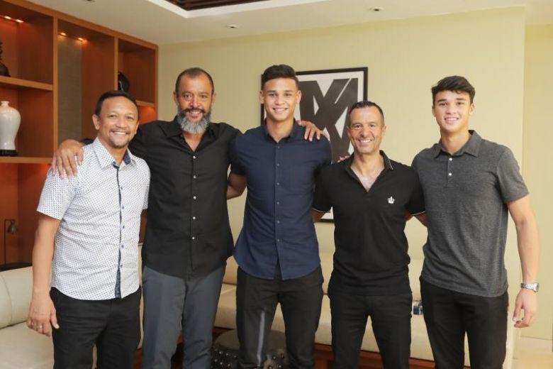 Ο Ζόρζε Μέντες και ο Νούνο Εσπίριτο Σάντο σε κοινές διακοπές τους στην Σινγκαπούρη!