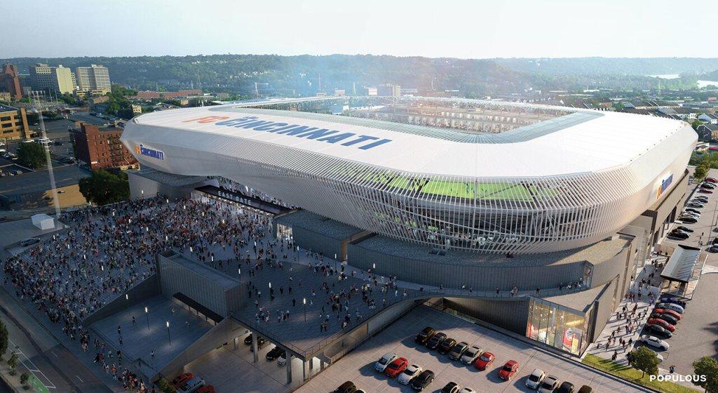 Η ψηφιακή απεικόνιση του νέου γηπέδου του Σινσινάτι, ''West End Stadium''!