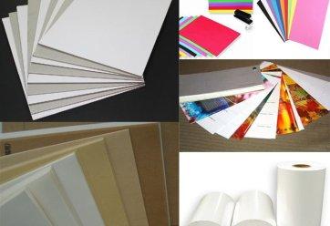 các loai giấy in, định lượng giấy in