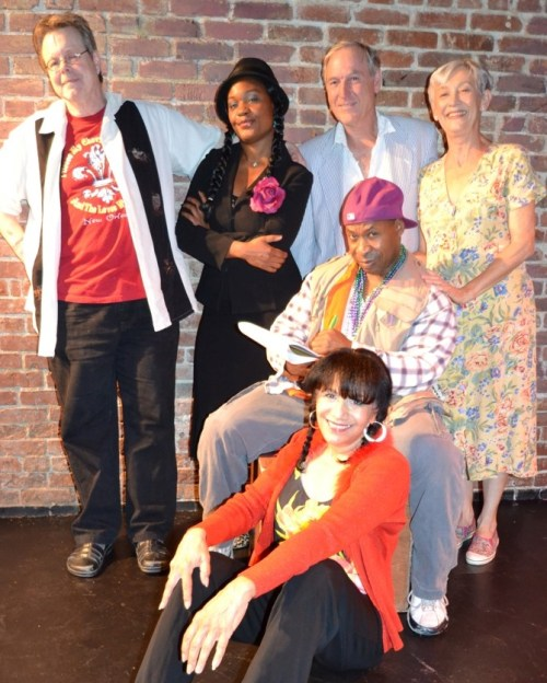 The Katrina Comedy Fest cast.