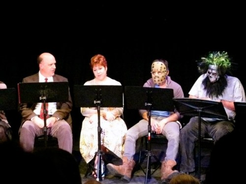 Play reading at Playwrights Union