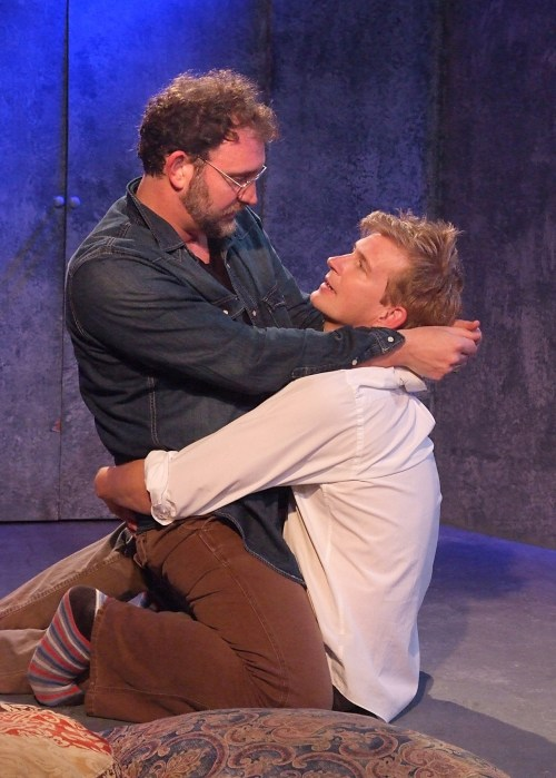"""Tim Cummings and Bill Brochtrup in """"The Normal Heart"""""""