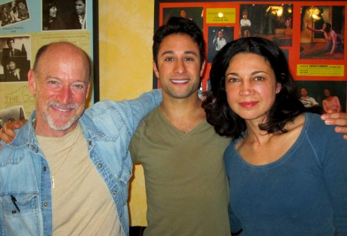 Actors Joel Polis, jason Karasev, and Anna Khaja.