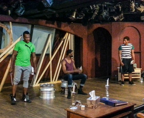 'The Brothers Size' in rehearsal at the Fountain